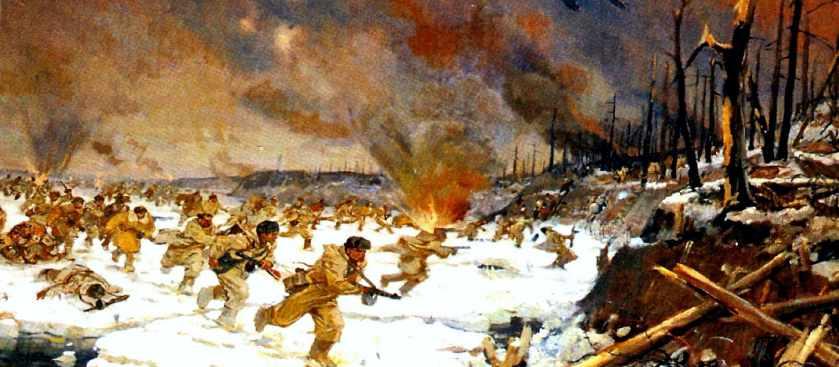 Операция Искра по прорыву Блокады Ленинграда