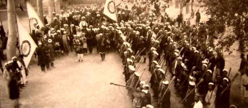 Интервенция Красной армии в Синьцзян против восстания уйгуров