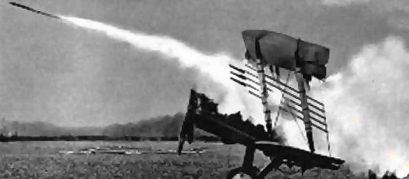 Авиационные ракеты Первой мировой войны
