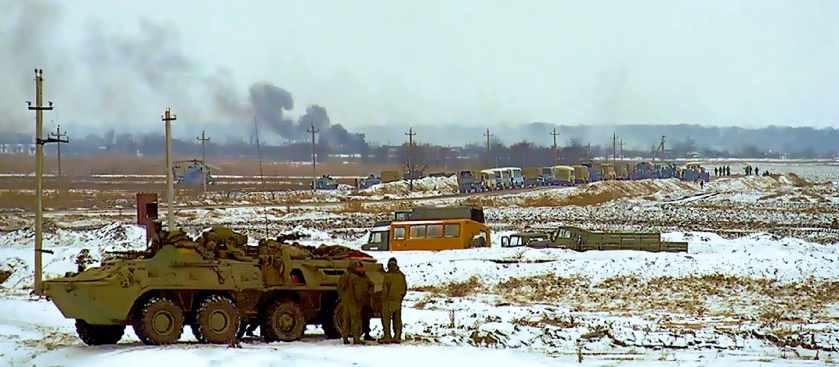 Теракт Салмана Радуева в Кизляре: Бой у села Первомайское