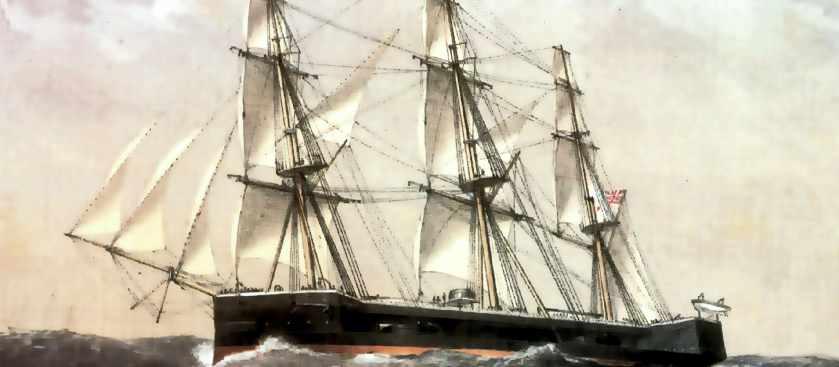 Броненосец Капитан - как затонул самый несчастливый корабль флота Англии