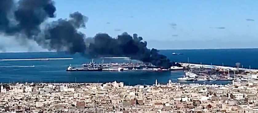 Взрывы израильских диверсантов в Триполи