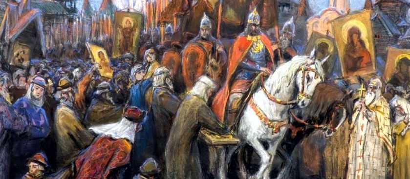 Восточная экспансия новгородских дружин