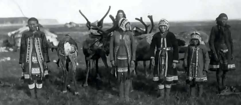 Рассохинская группа эвенов - последние оленеводы-кочевники СССР