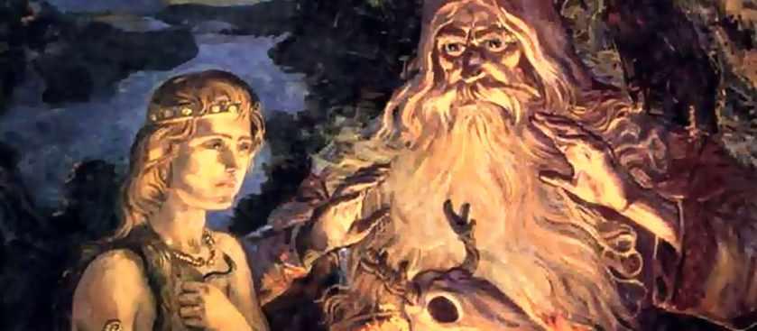 Мифический народ сиртя (сихиртя согласно ненецкой мифологии)