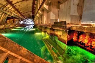 Фото: база подводных лодок в Балаклаве, интересные факты