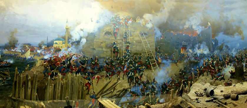 Кровавый Штурм Измаила Суворовым кратко 1790 года