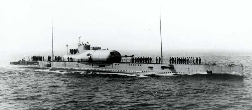 Французская подводная лодка Сюркуф