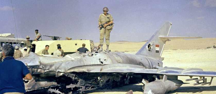 Операция Римон-20: столкновение ВВС Израиля с советскими лётчиками