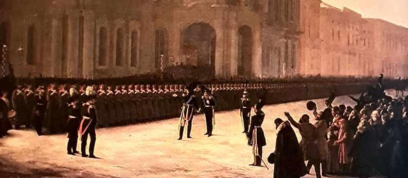 Почему участники восстания декабристов не имели боевого опыта?