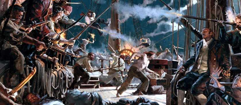 Пираты и пиратство - история ремесла морского разбоя