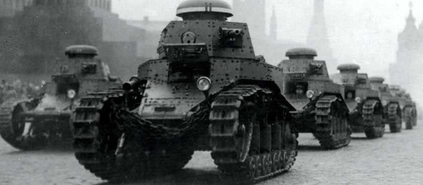 Как создавались первые советские танки?