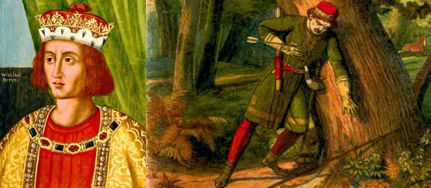 Тайна смерти Вильгельма II Руфуса в парке Нью-Форест, Англия