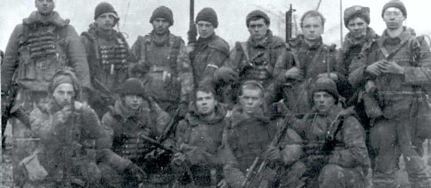 Бой разведчиков 166 ОМСБр на высоте 274 у с. Старые Атаги