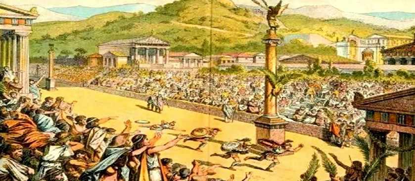 Олимпийские игры Древней Греции - подкуп и жульничество