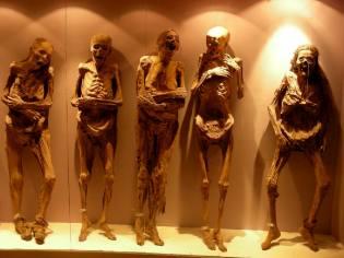Фото: музей мумий кладбища Гуанахуато