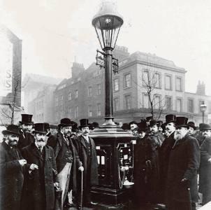 Фото: газовое освещение — интересные факты