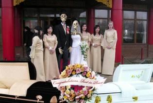 Фото: загробные свадьбы — интересные свадьбы