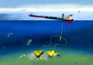 Фото: скважина к мантии со дна океана