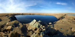 Фото: атомное озеро Чаган — интересные факты