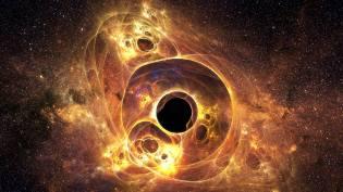 Фото: чёрная дыра — интересные факты