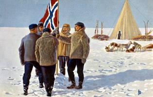 Фото: покорение Южного полюса, интересные факты