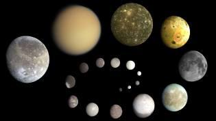Фото: луны в Солнечной системы — интересные факты