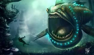 Фото: морские чудовища — интересные факты