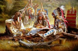 Фото: шаман американских индейцев, интересные факты