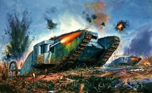 Фото: танки Первой мировой войны — интересные факты
