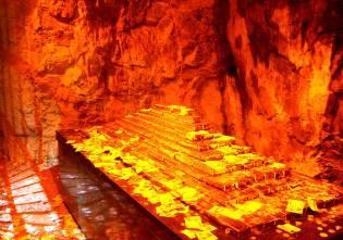 Фото: золото пещеры Колоссаль, интересные факты