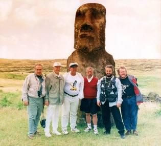 Фото: Макаревич на острове Пасхи — интересные факты
