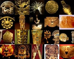 Фото: золото инков — интересные факты