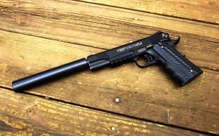 Фото: глушитель для бесшумной стрельбы, интересные факты