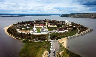 Фото: Свияжск — остров-град, интересные факты
