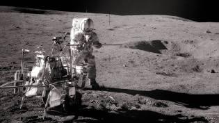 Фото: лунная экспедиция США — интересные факты