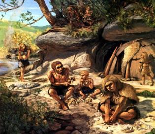 Фото: первые люди на Земле, интересные факты
