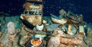 Фото: клад в проливе Каримата, интересные факты