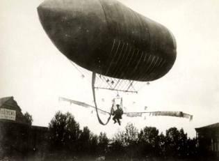 Фото: летательный снаряд Данилевского, интересные факты