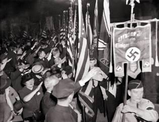 Фото: американцы на стороне Гитлера