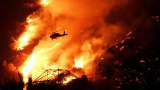 Фото: самые страшные пожары — интересные факты
