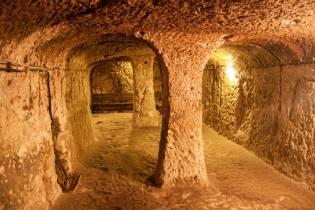 Фото: подземный город Деринкую, интересные факты
