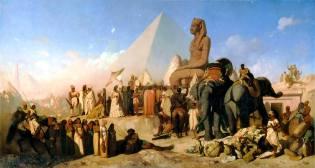 Фото: Египетский поход Камбиса, интересные факты