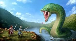 Фото: волжский змей — интересные факты