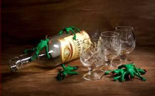 Фото: алкоголь и нечистая сила, интересные факты