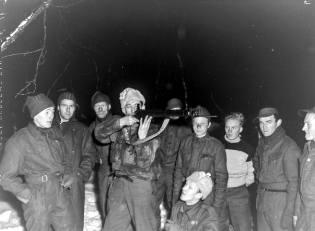 Фото: советские партизаны в Норвегии