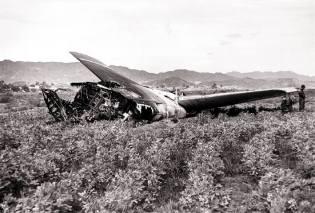 Фото: авиакатастрофа над Паломаресом, интересные факты