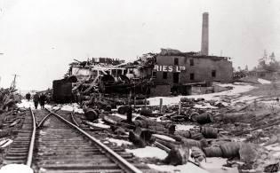 Фото: взрыв корабля Монблан — интересные факты