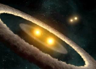 Фото: двойные звёзды — интересные факты