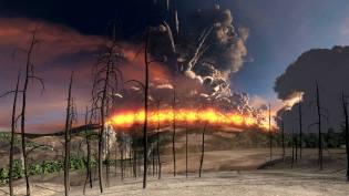 Фото: вулкан Йеллоустон — интересные факты